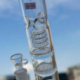 18インチ-高いトルネード水煙る管か水泡が付いているガラス煙る管