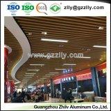 Facile à nettoyer le panneau en aluminium de déflecteur plafond décoratif plafond avec la norme ISO9001