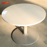 Твердой поверхности кухонной мебели квадратный обеденный стол устанавливает
