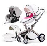 Fabrik-Großhandelswinter 3 in 1 heißem Mamma-Baby-Spaziergänger