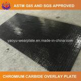 Plaque de recouvrement de soudure de carbure de chrome