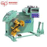 Uncoilerおよびストレートナ機械はローラーのシート持ち上がるデザイン(RUS-200F)で使用される