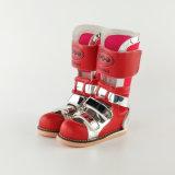 Chaussures orthopédiques de support de cheville de pied de moulage médical élevé de coupure