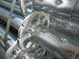 Standard galvanizzato dell'armatura di Ringlock del TUFFO caldo