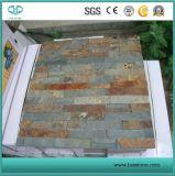 Grigio naturale/colore giallo/beige/nero/ardesia arrugginita per il rivestimento/pavimentazione/mosaico/Flagstone/piscina della parete che fa fronte/pavimentazione del raggruppamento