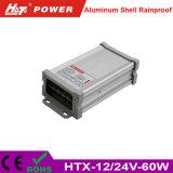 60Wからの400W Rainproof LEDの電源Htxシリーズへの5/12/24V