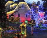 Lumière de Noël neuve de l'eau salée de modèle DEL