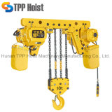Tipo grua Chain elétrica do trole de Hsy do sistema da polia