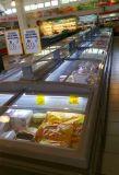 -20 degrésà basse température de l'île de supermarchés de fruits de mer congélateur