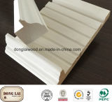 Wasserdichtes Baumaterial Solides Holzformteil Weißes Primer Türgestell