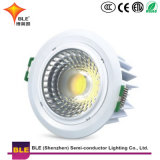 COB Plafonnier LED 15W Downlight en aluminium