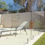 O espigão de aço inoxidável de alta qualidade sem caixilho corrimão de vidro interior Design de Esgrima