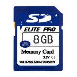Classe de haute qualité10 Carte mémoire SDHC 8 Go pour le numérique