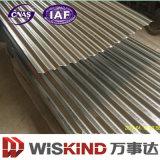 Lamiera sottile ondulata del migliore di prezzi acciaio rivestito di colore
