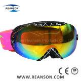 Casque Compatible Anti-Fog double lentille de lunettes de ski