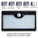 60 LED de plein air solaire étanche du capteur de mouvement de commande à distance de la lumière avec 5 modes
