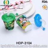 400ml BPA освобождают бутылку воды малышей 3D линзовидную пластичную