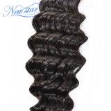 Бразильский глубокой кривой 1 Bundle, 100% нового человеческого волоса продление Cuticle совмещены