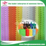 Tessuto non tessuto variopinto per il sacchetto di acquisto con il PUNTINO