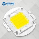 Holofote LED usado Shenzhen Getian High Bright 40W de alta potência Chip LED