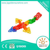 Gebäude-Ziegelstein-Spielzeug der Kinder intellektuelles in der Schnee-Form mit Ce/Ios Bescheinigung
