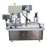 Machine remplissante et recouvrante de liquide de têtes des produits de beauté 4