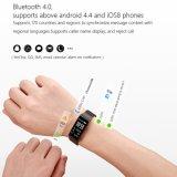 Het Tarief van het Hart van Bluetooth Smartwatch van het Telefoongesprek en Slaap die het Slimme Horloge van Sporten controleren
