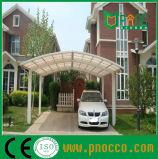 Tettoia di alluminio curva di parcheggio del Carport del tetto del policarbonato