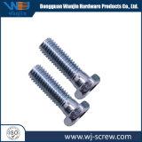 Kundenspezifische Hex Kopf-lange galvanisierte überzogene Schulter maschinell bearbeitete Hauptschraube