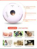 [ويب014] مصغّرة [فيش] بصيلة 360 درجات [هوم سكريتي] ضوء آلة تصوير [ويفي] [إيب] آلة تصوير شامل رؤية