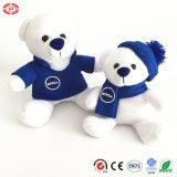 장난감 곰 견면 벨벳 장난감이 Nivea 가족 박제 동물에 의하여 농담을 한다