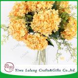 Gran Hortensia Flores artificiales para la decoración de boda