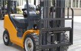 XCMG Diesel van de Verschuiving van de Mast van 3 Ton Triplex ZijVorkheftruck