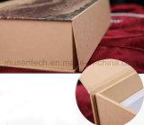 Cmyk die het Bruine Karton afdrukken die Van uitstekende kwaliteit van het Document van de Kleur Vakje vouwen