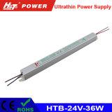 alimentazione elettrica di commutazione di 36W 1.5A 24V per il segno ultrasottile di Lightbox