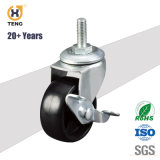 20+Years 2 Inch Rubber Swivel Table Furniture Casters Wheels Cabinet Caster