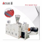 プラスチックタイル機械かフルオートマチックPVC屋根瓦機械