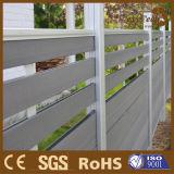 Garten-Zaun der Aluminiumpfosten-hölzerner Zusammensetzung-WPC vom Guangdong-Hersteller