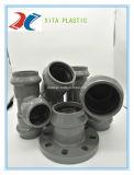 Grifo de PVC brida con anillo elástico de accesorios de tubería