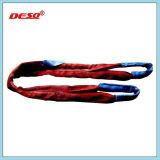 Correia de elevação flexível e eslinga de poliester redonda