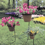 Sustentação da planta da estaca do potenciômetro de flor