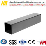 Tubo d'acciaio immagazzinato di norma ISO, Tubo quadrato d'acciaio nero dei materiali da costruzione