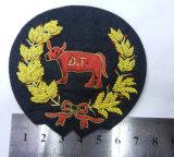 Handindien-Edemetallbarren-Silk Stickerei-Abzeichen für Kleidung