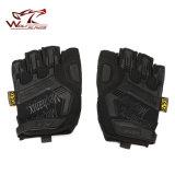 Горячая продажа тактические половину уплотнения пальцев перчатки перчатки Airsoft военные уплотнение перчатки