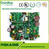 緑のSoldermask及び無鉛HASLの二重サイドPCB