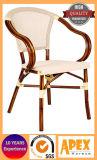 Mobília de bambu do olhar dos restaurantes ao ar livre franceses de matéria têxtil de Batyline da cadeira