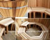 グループのためのすばらしく熱い鉱泉のジャクージのヒマラヤスギの木製の温水浴槽