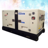 3 gerador silencioso do motor Diesel 100kVA do dossel Soundproof da fase