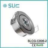 台所(SLCG-C006-2)のためのキャビネットの照明の下の3W LED
