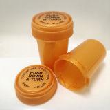Fioles/bouteilles en plastique neuves de Rx d'ordonnance avec les chapeaux réversibles